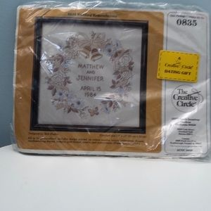 Vintage Embroidery Wall Hanging Kit Unopen…